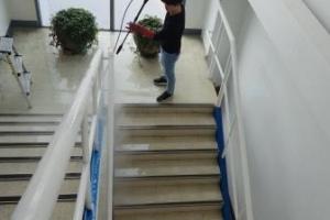 공장 사무동 계단주변 청소 …